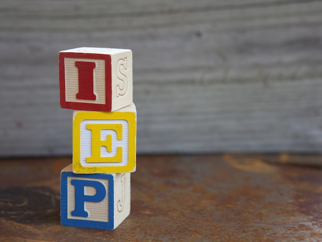 Indivualized Education Plan (IEP)