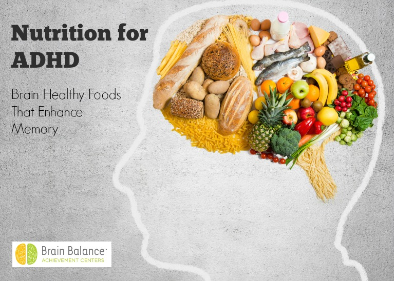 ADHD Nutrition for Memory | Brain Balance Centers