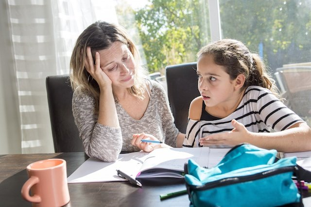 Parent Stress ADHD and Learning Disorders