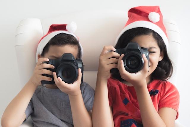 Perfect Holiday Photo with Sensory Sensitive Kids