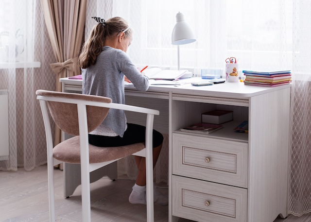 Homework Station for Building Executive Function Skills
