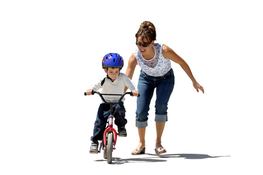 Child Learning to Ride Bike | Development Milestone