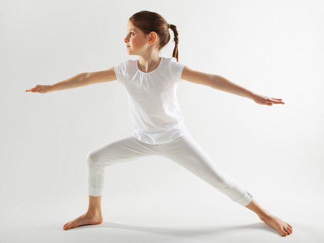 Yoga for Anxiety in Children | Warrior Post for Anxiety